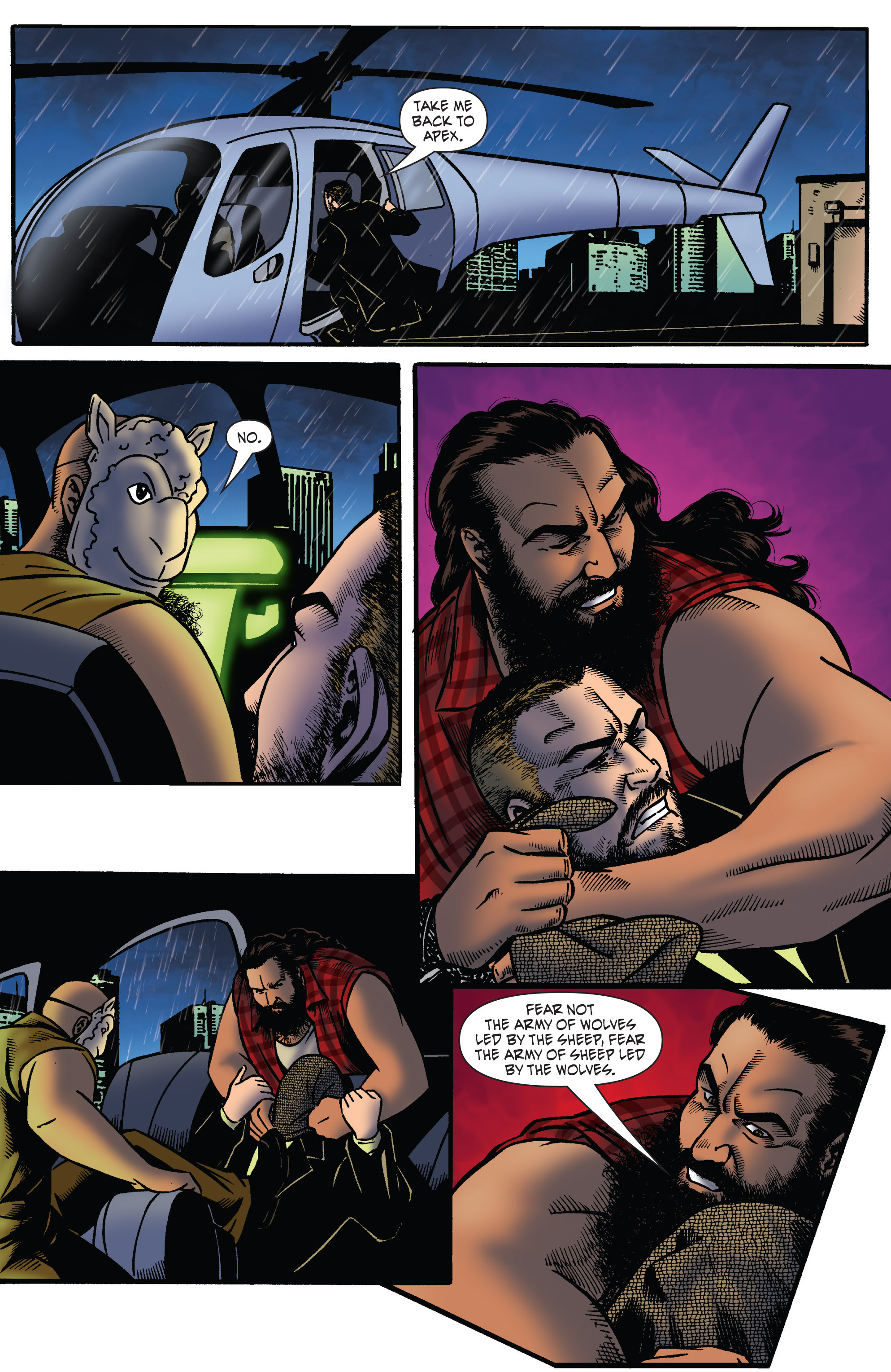 Read online WWE Superstars comic -  Issue #2 - 20
