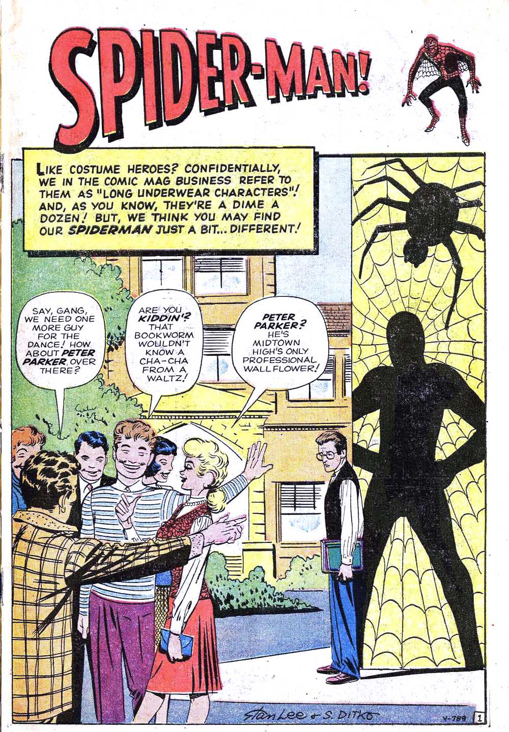 Read online Amazing Fantasy (1962) comic -  Issue #15 - 3