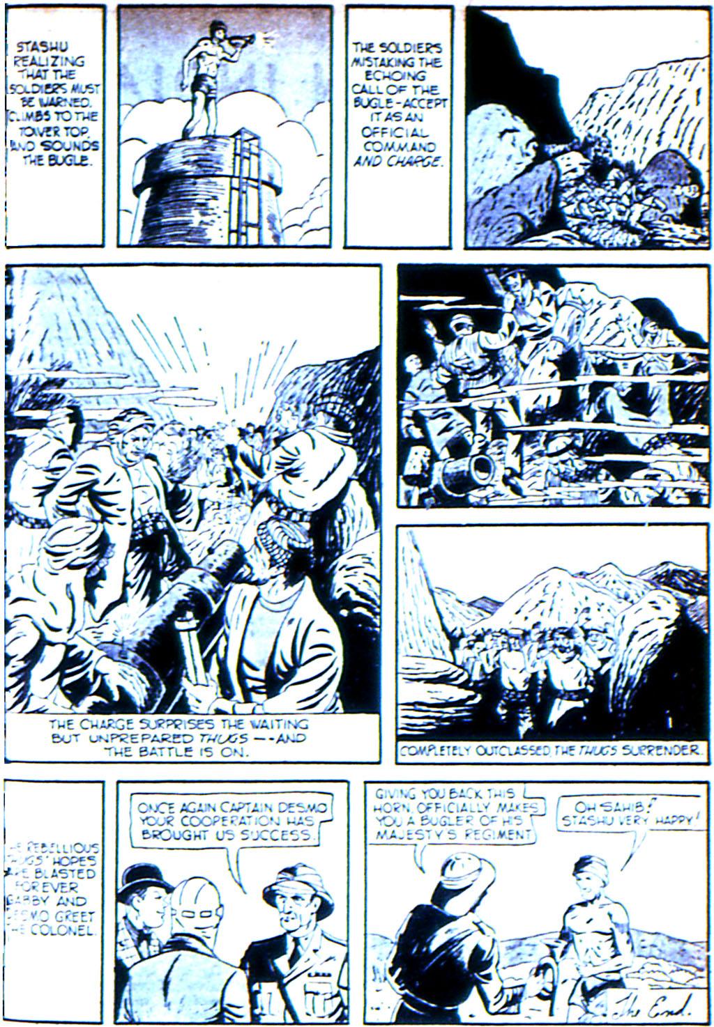 Read online Adventure Comics (1938) comic -  Issue #42 - 41