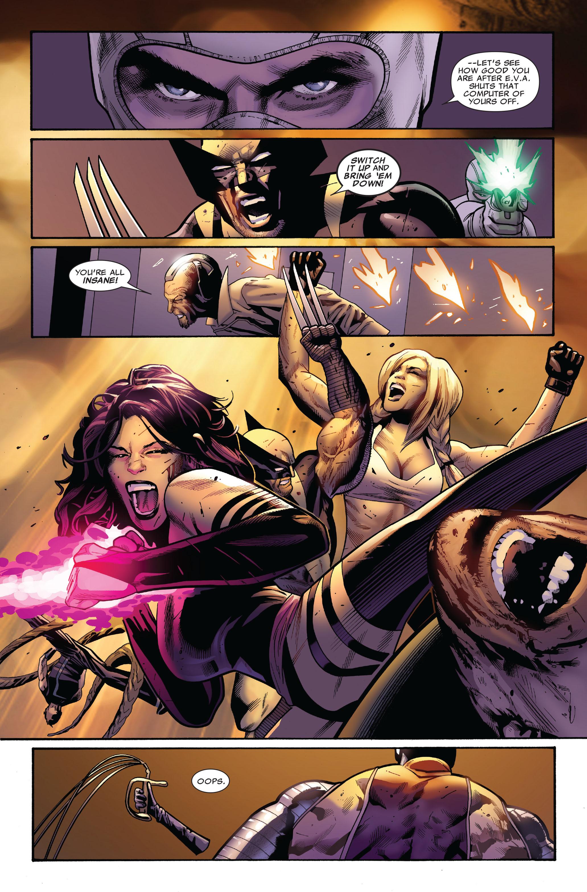 Read online Uncanny X-Men (1963) comic -  Issue #521 - 13