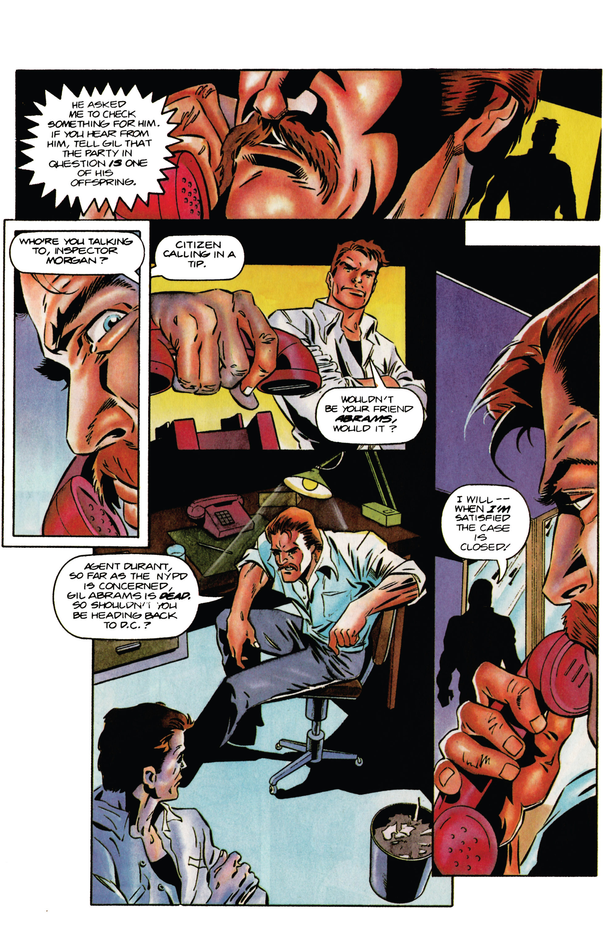 Read online Eternal Warrior (1992) comic -  Issue #34 - 11