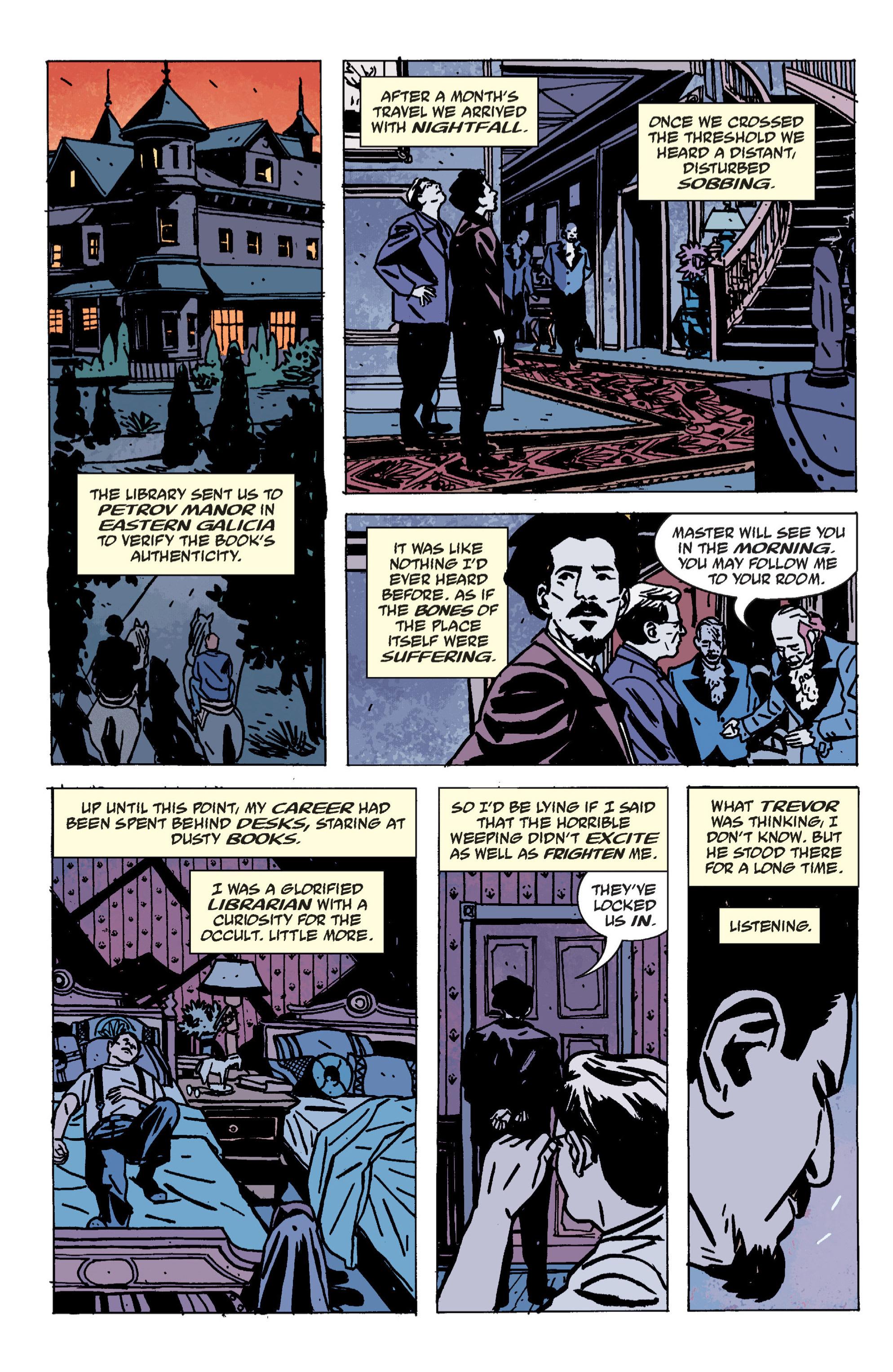 Read online B.P.R.D. (2003) comic -  Issue # TPB 9 - 138