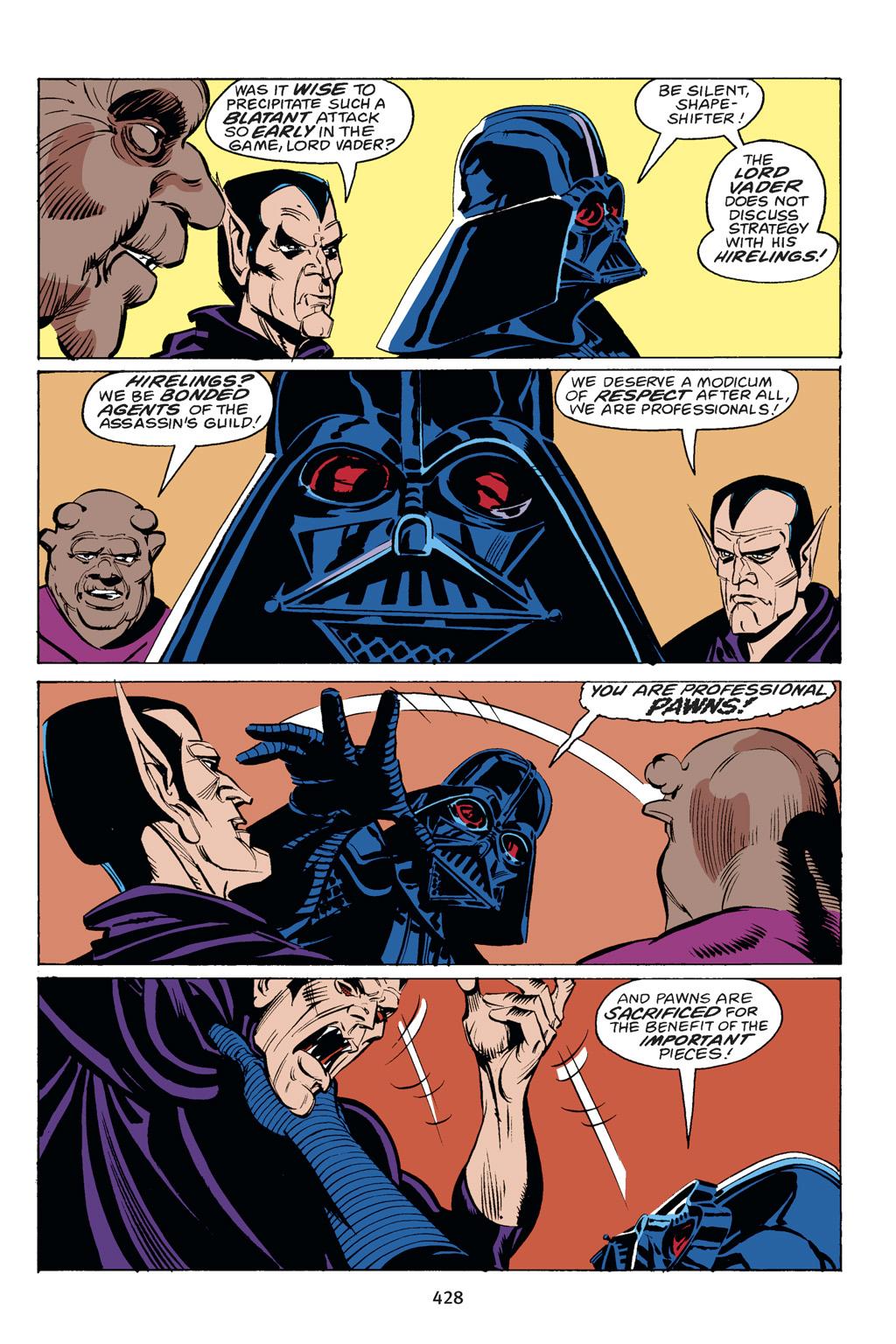 Read online Star Wars Omnibus comic -  Issue # Vol. 14 - 422