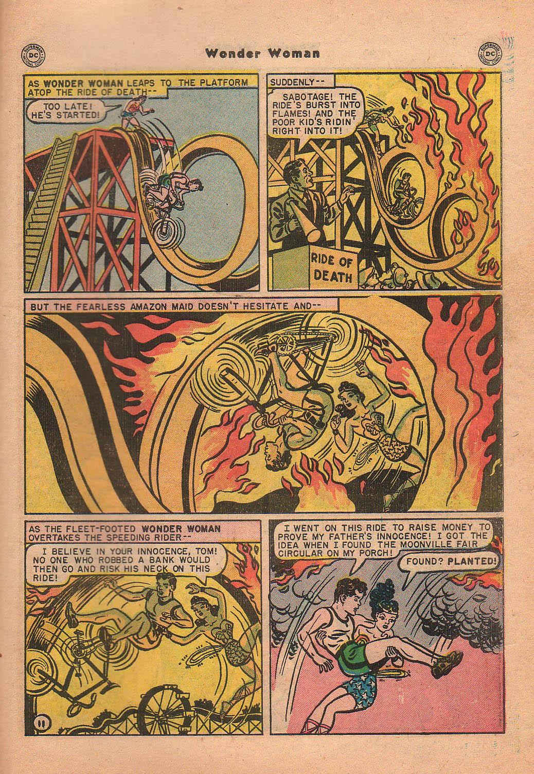 Read online Wonder Woman (1942) comic -  Issue #42 - 48