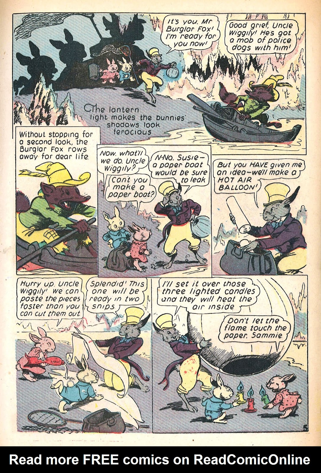 Read online Animal Comics comic -  Issue #4 - 8