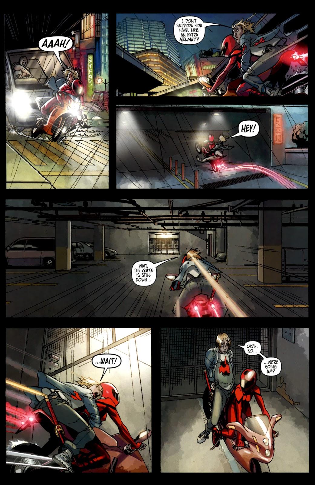 Read online Shinku comic -  Issue #1 - 11