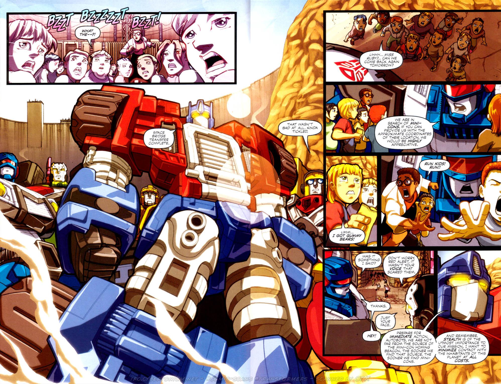 Read online Transformers Armada comic -  Issue #4 - 4