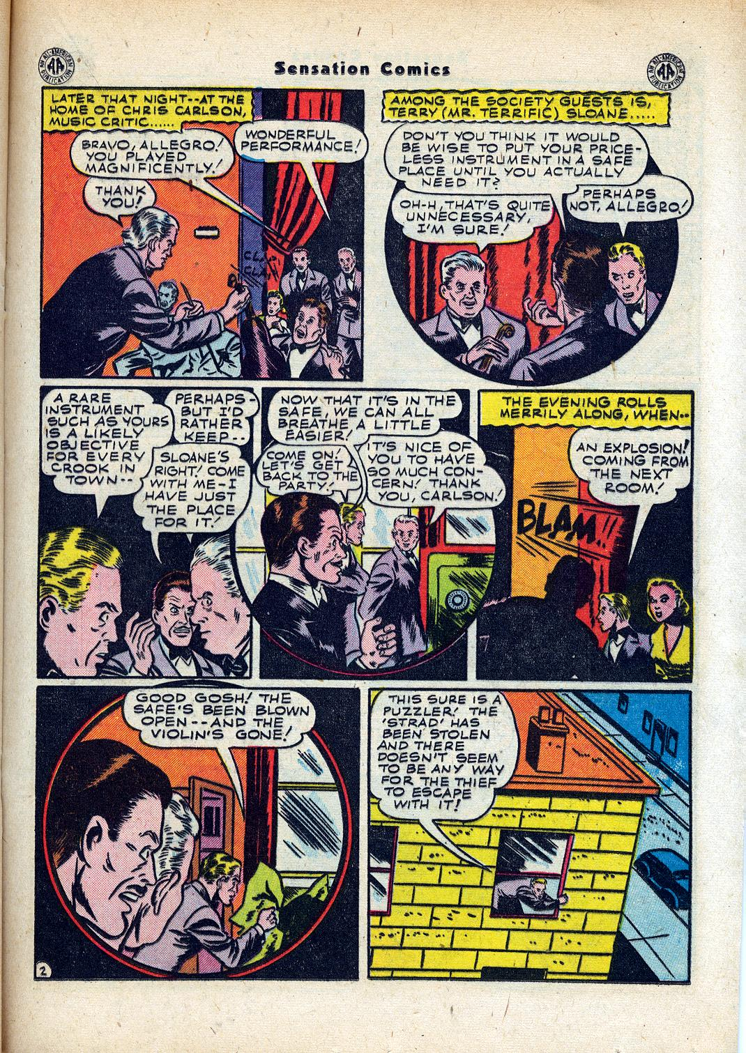 Read online Sensation (Mystery) Comics comic -  Issue #45 - 29