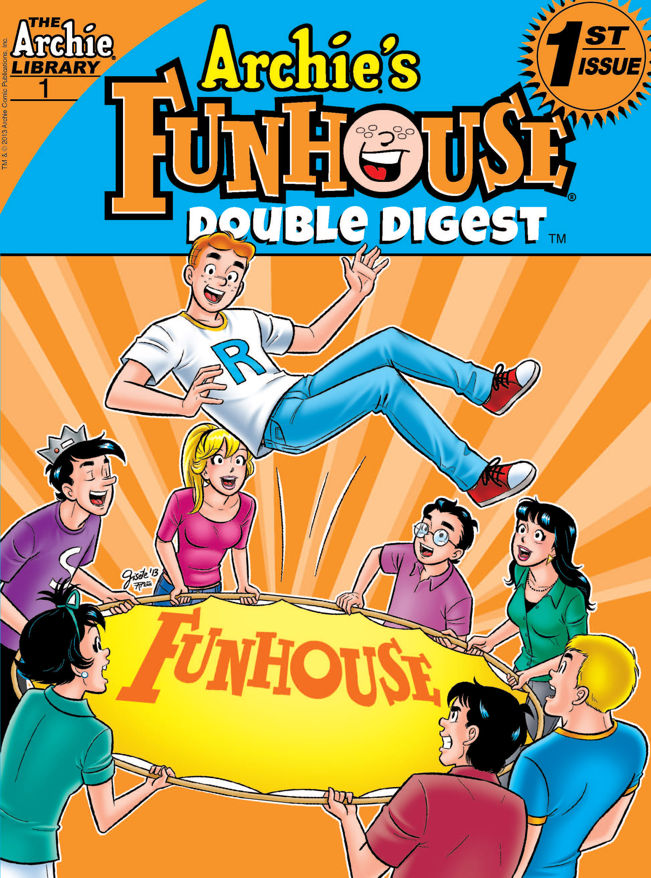 Read online Archie's Funhouse Double Digest comic -  Issue #1 - 1