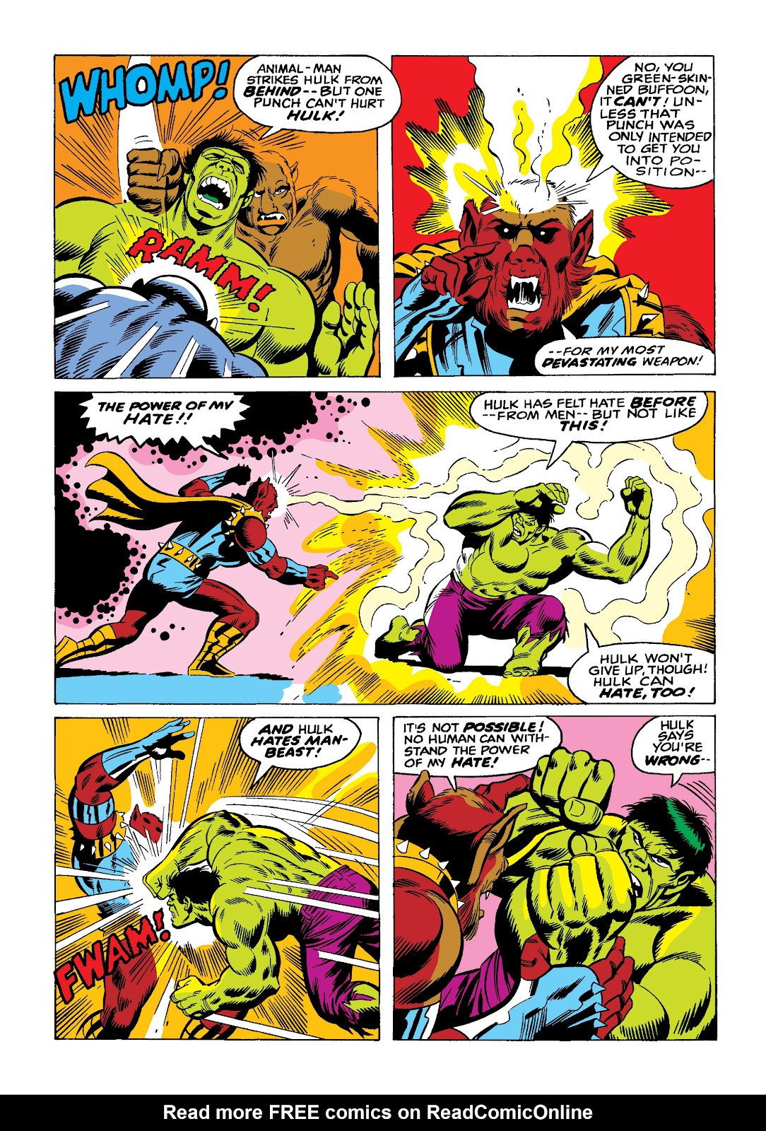 Read online Marvel Masterworks: The Incredible Hulk comic -  Issue # TPB 10 (Part 2) - 58
