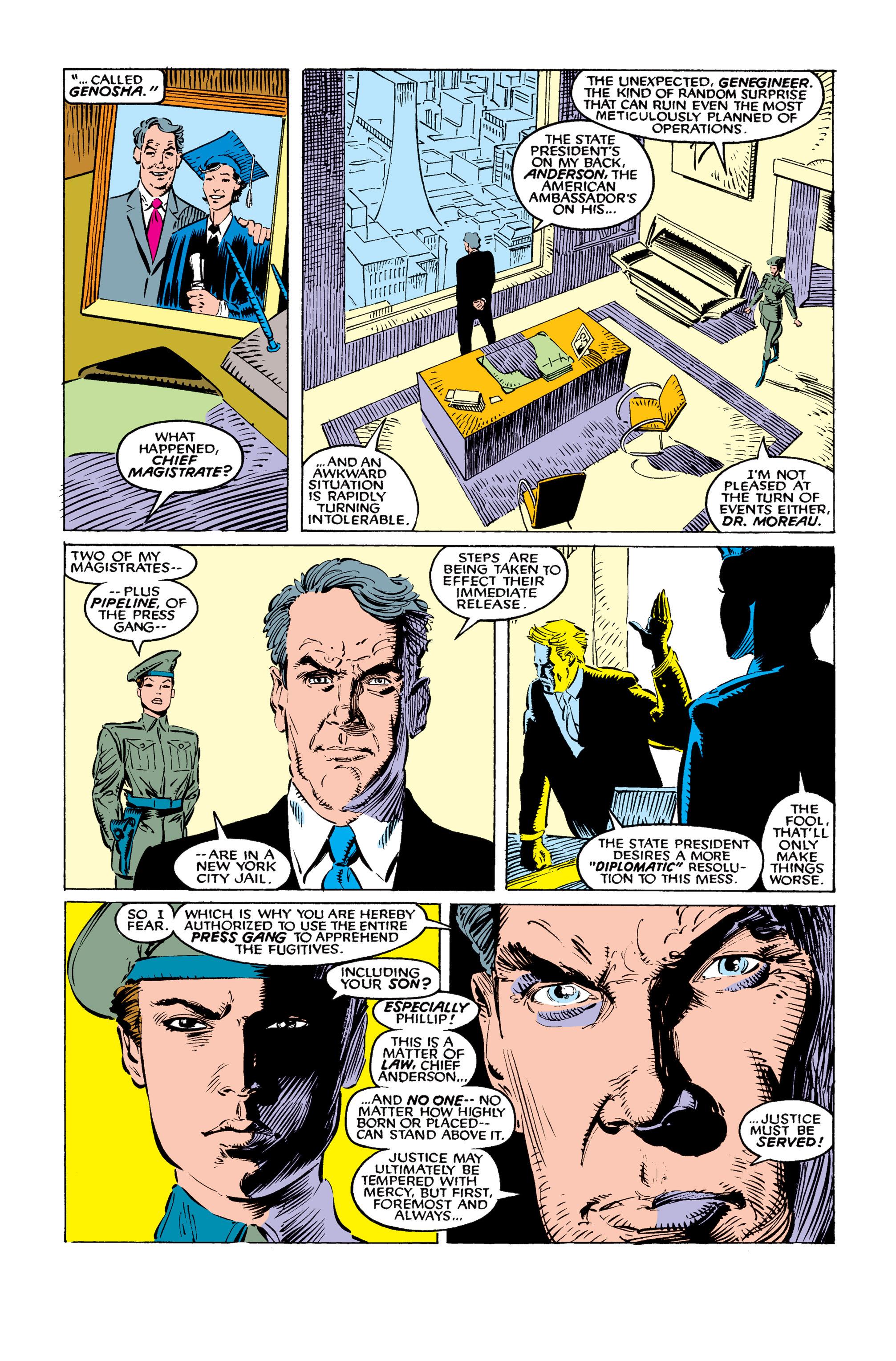 Read online Uncanny X-Men (1963) comic -  Issue #259 - 19