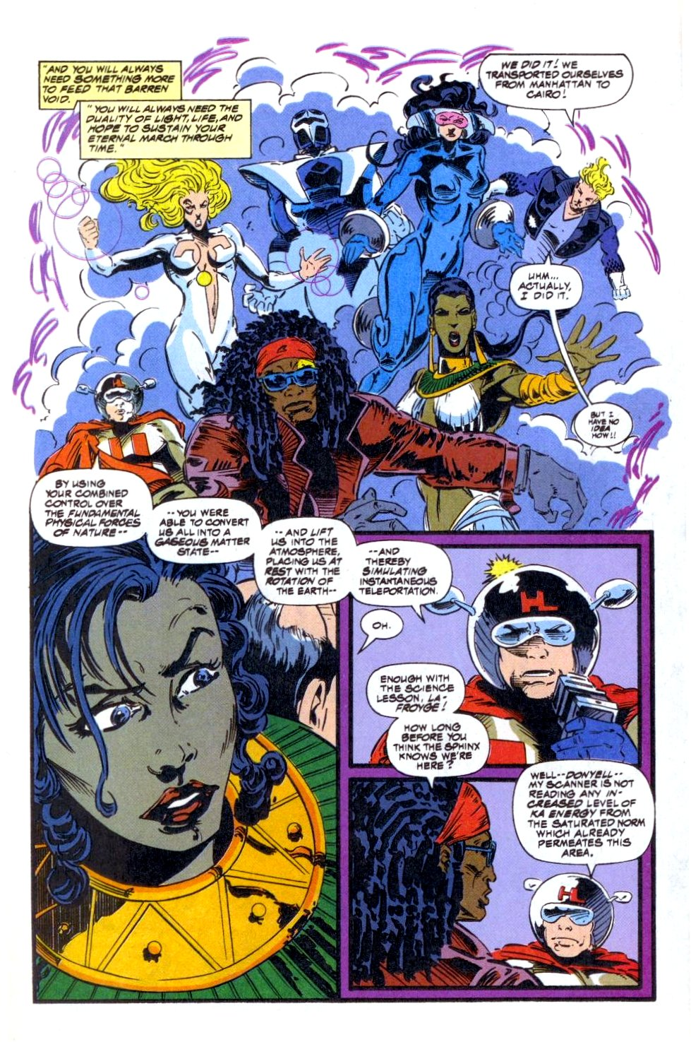The New Warriors Issue #49 #53 - English 5