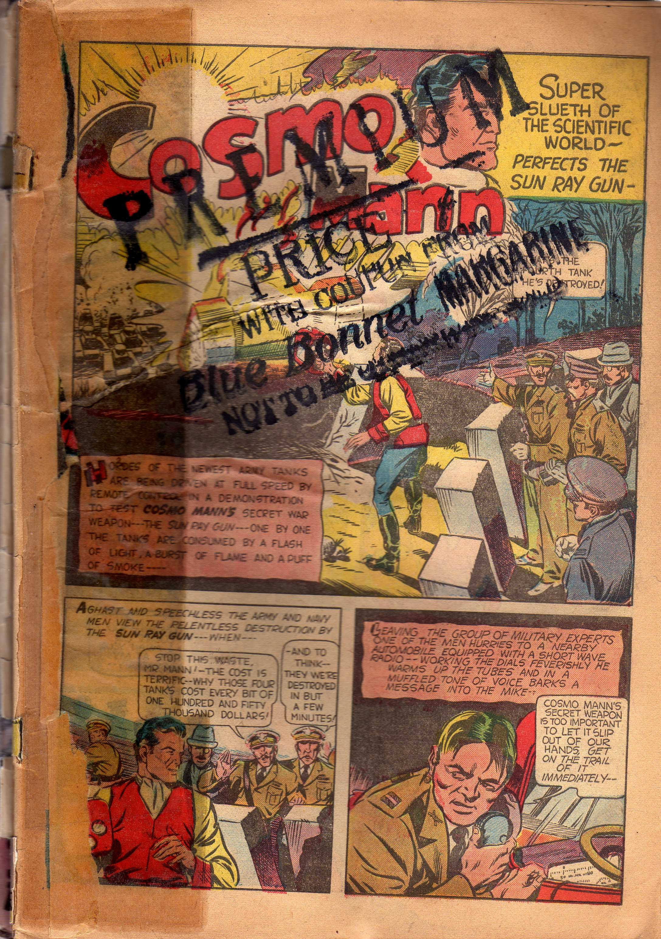 Bang-Up Comics issue 1 - Page 4