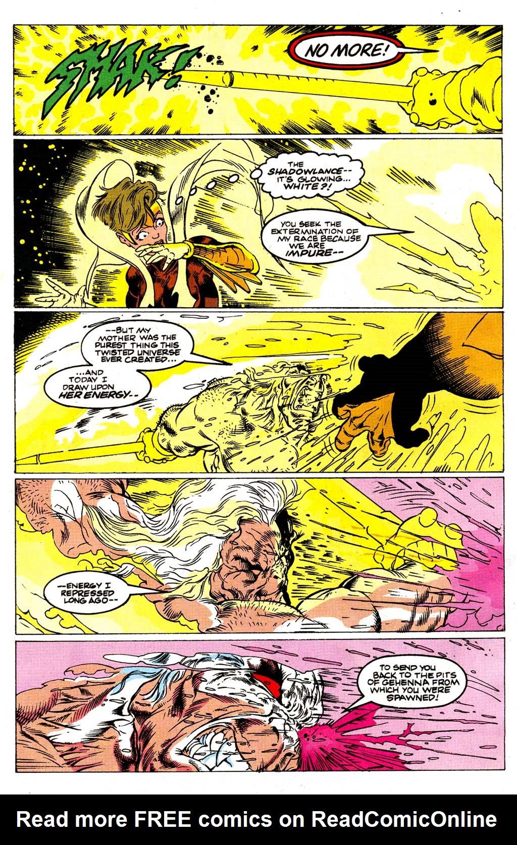Read online Blackwulf comic -  Issue #9 - 20