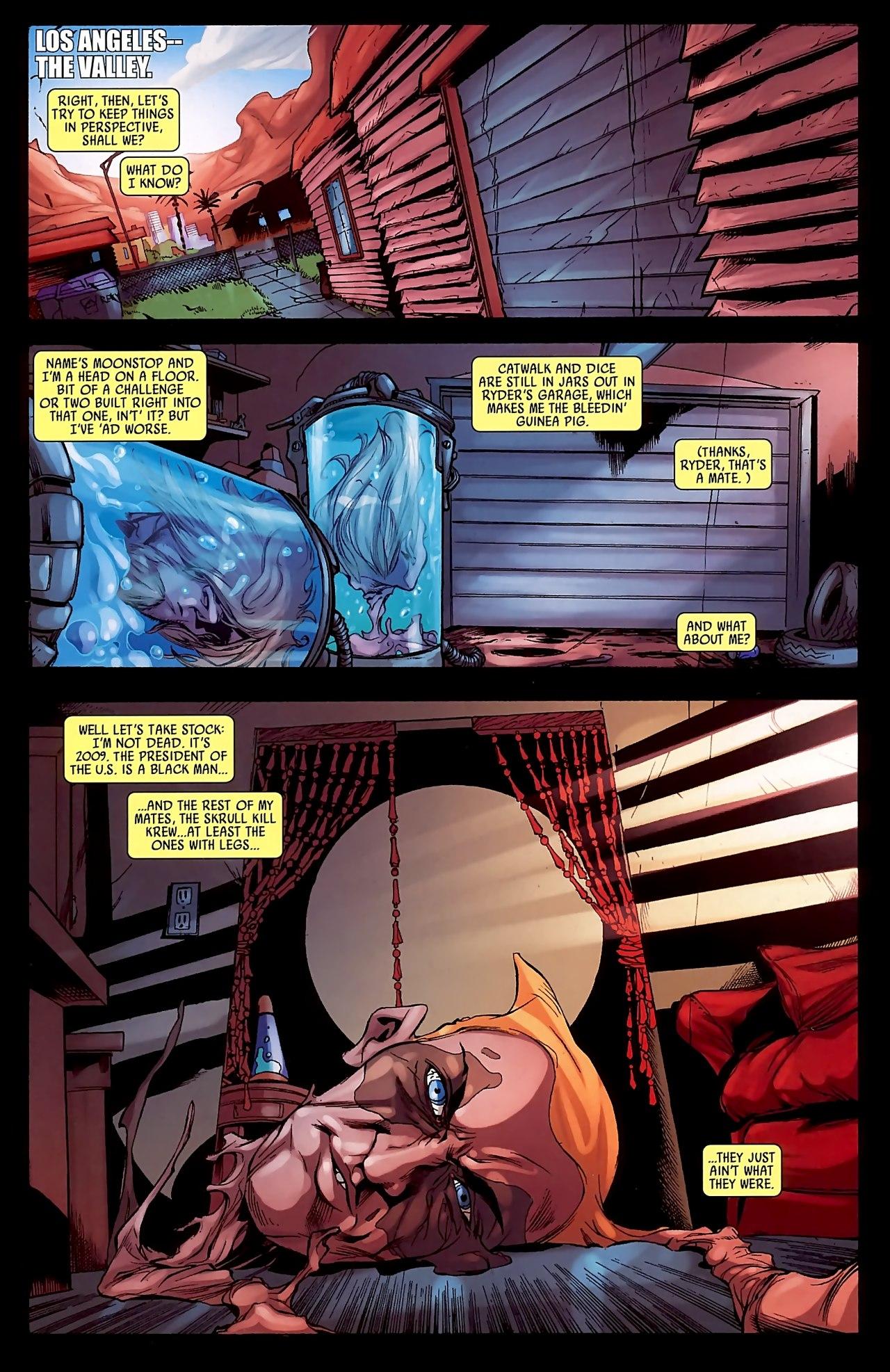 Read online Skrull Kill Krew (2009) comic -  Issue #3 - 5
