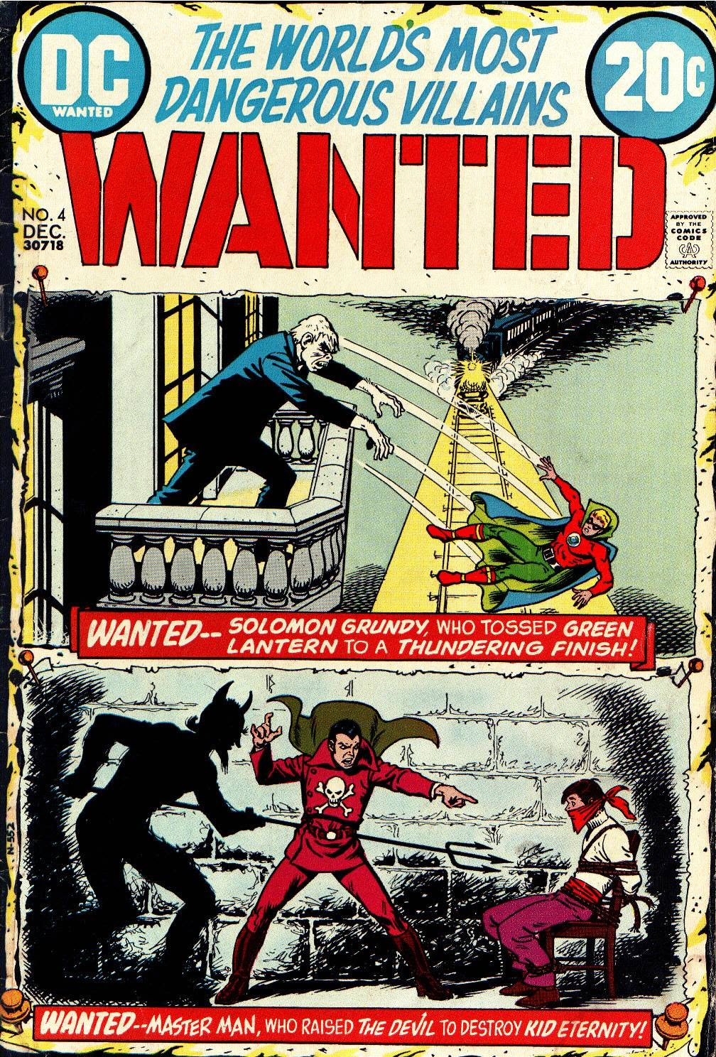 Wanted, the World's Most Dangerous Villains issue 4 - Page 1