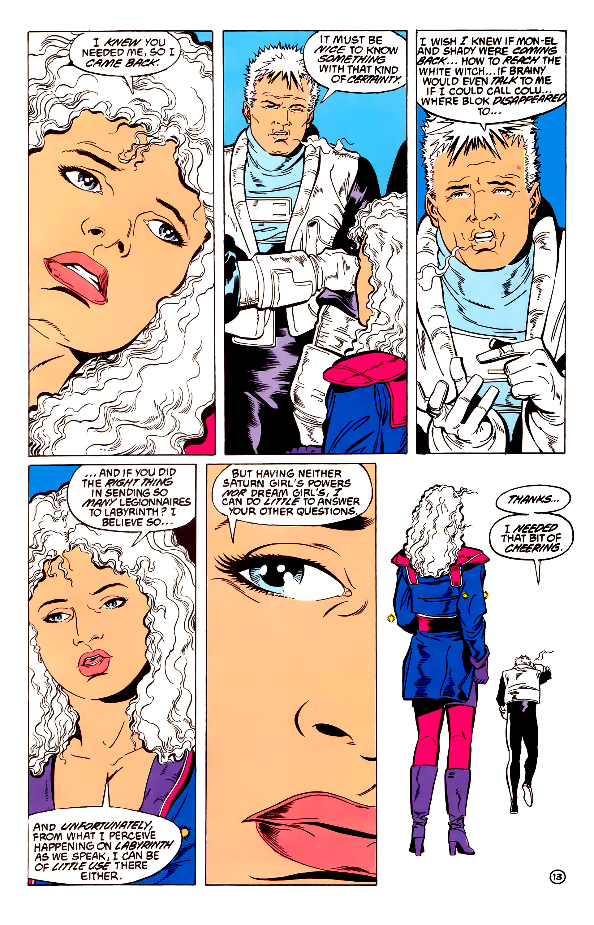 Legion of Super-Heroes (1984) 54 Page 13