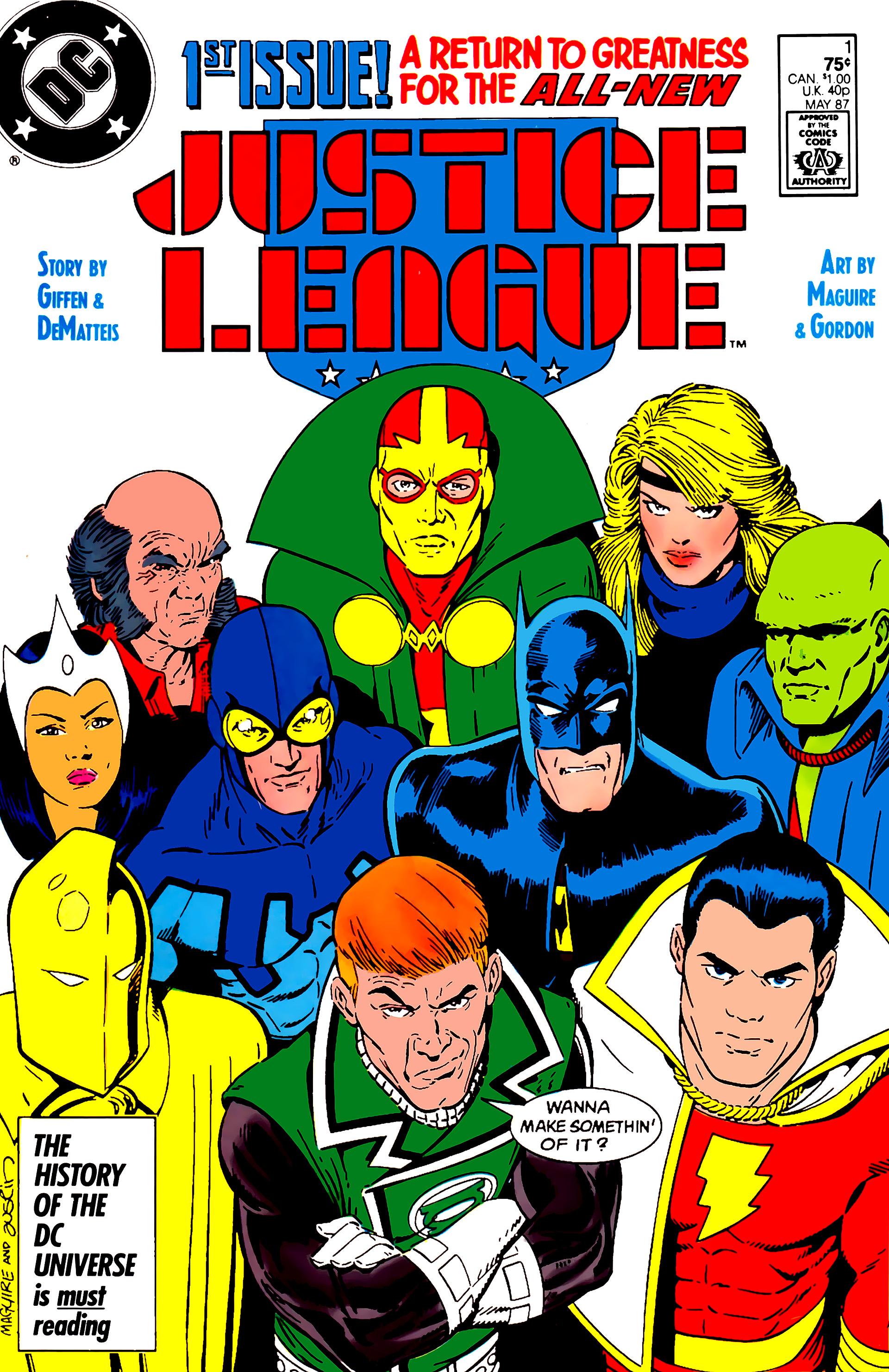 Justice League (1987) 1 Page 1