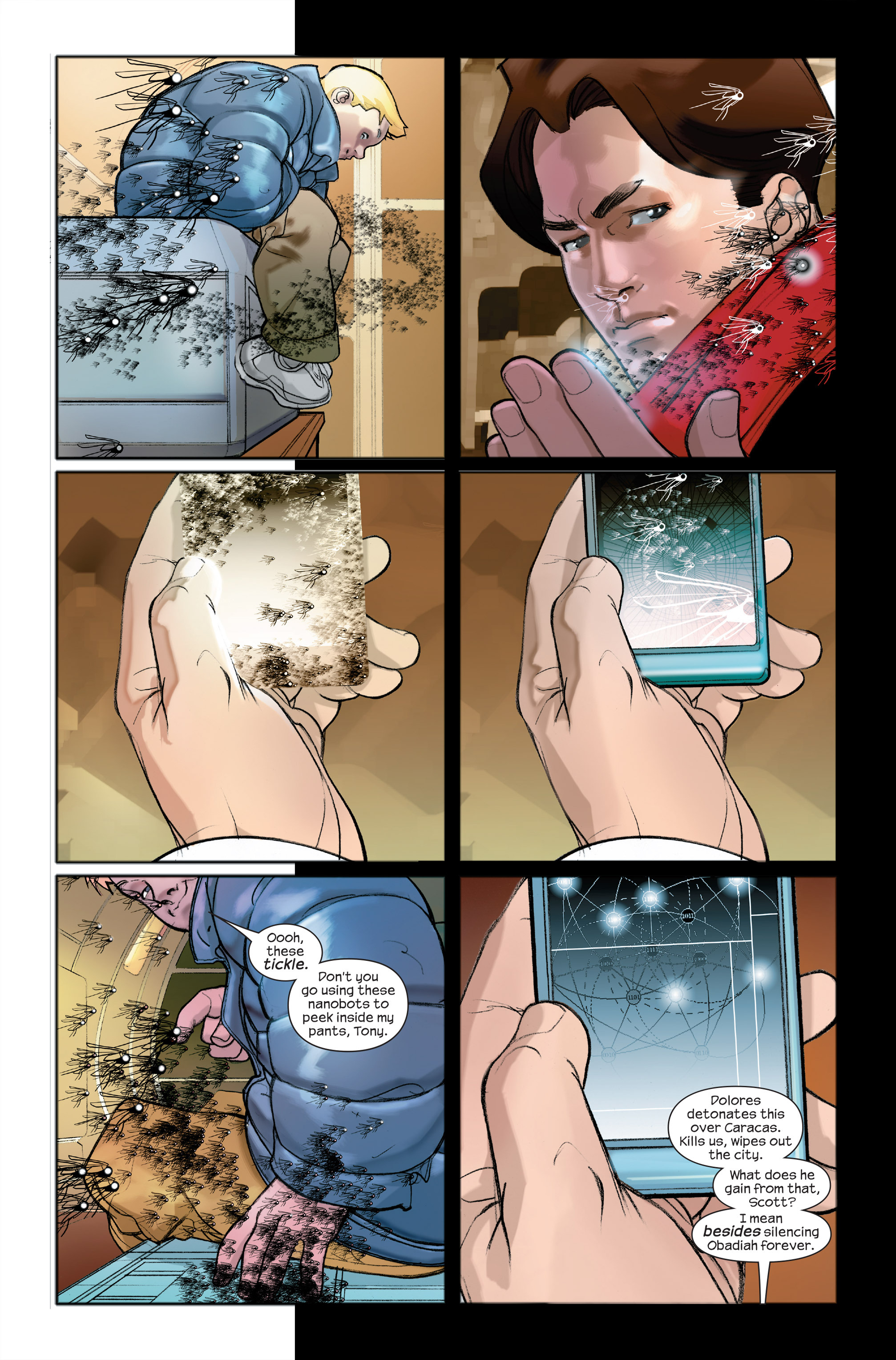 Read online Ultimate Iron Man II comic -  Issue #4 - 4