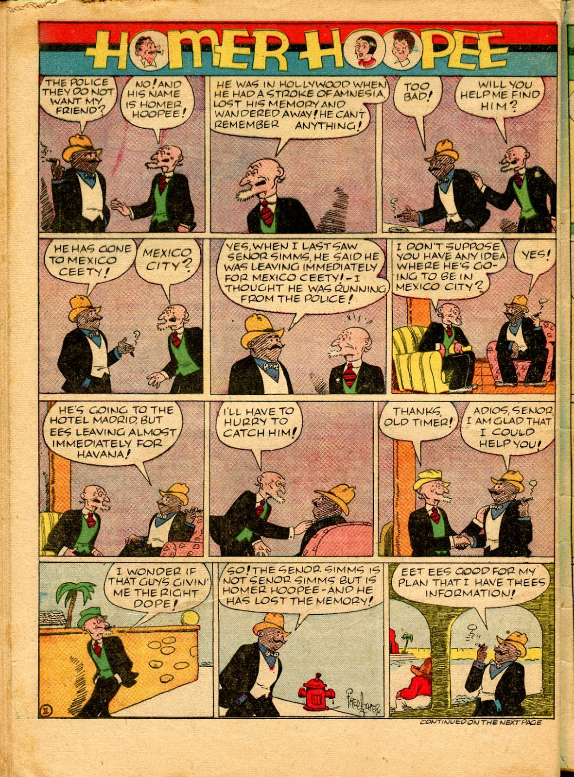 Read online Famous Funnies comic -  Issue #49 - 62
