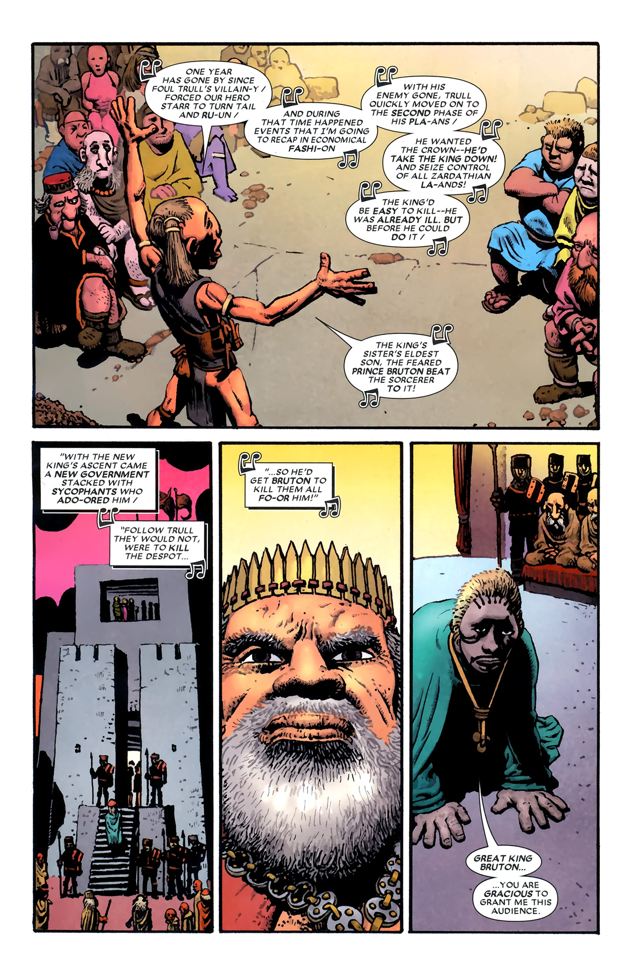 Read online Starr the Slayer comic -  Issue #3 - 3