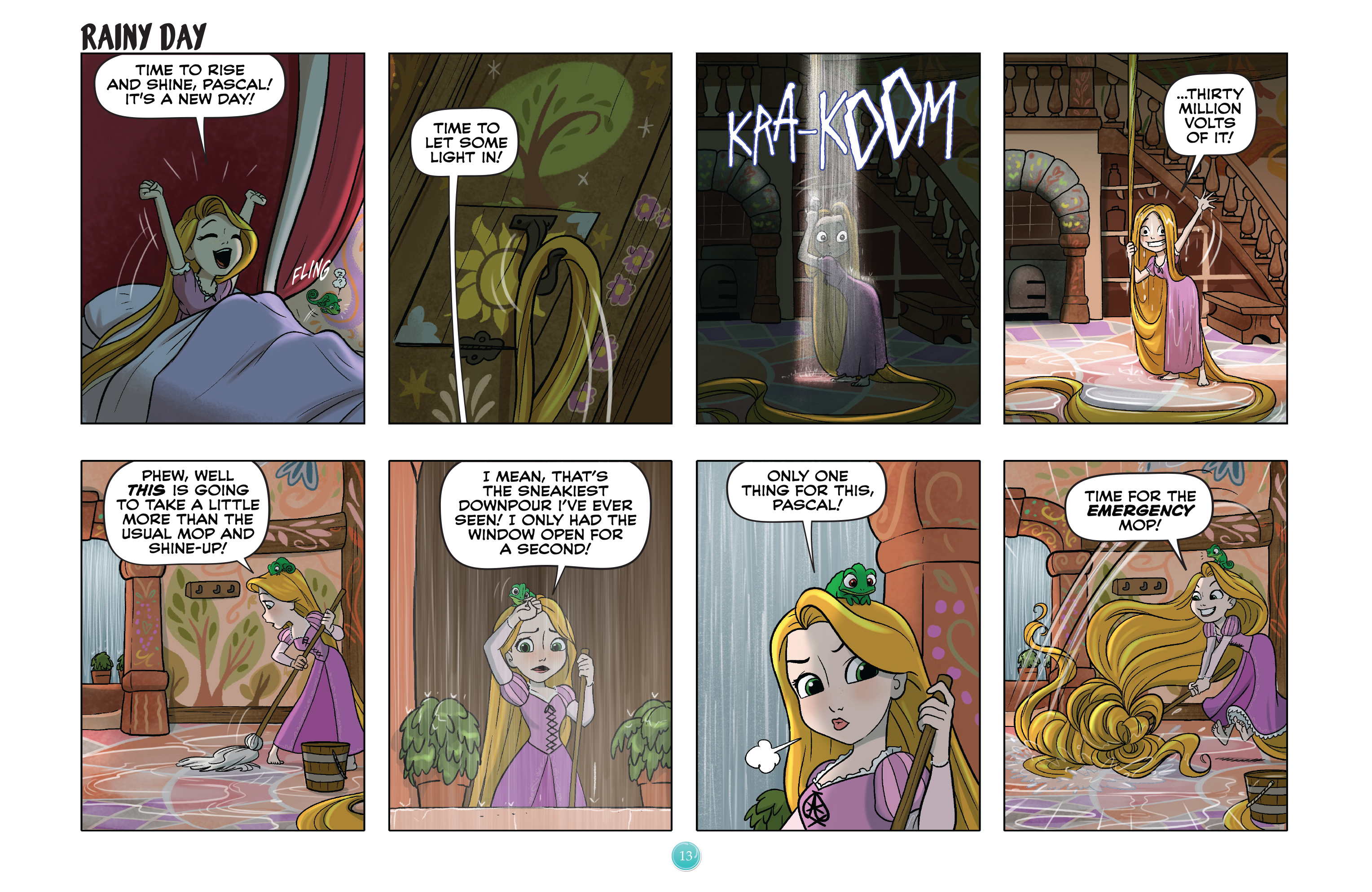 Read online Disney Princess comic -  Issue #4 - 16