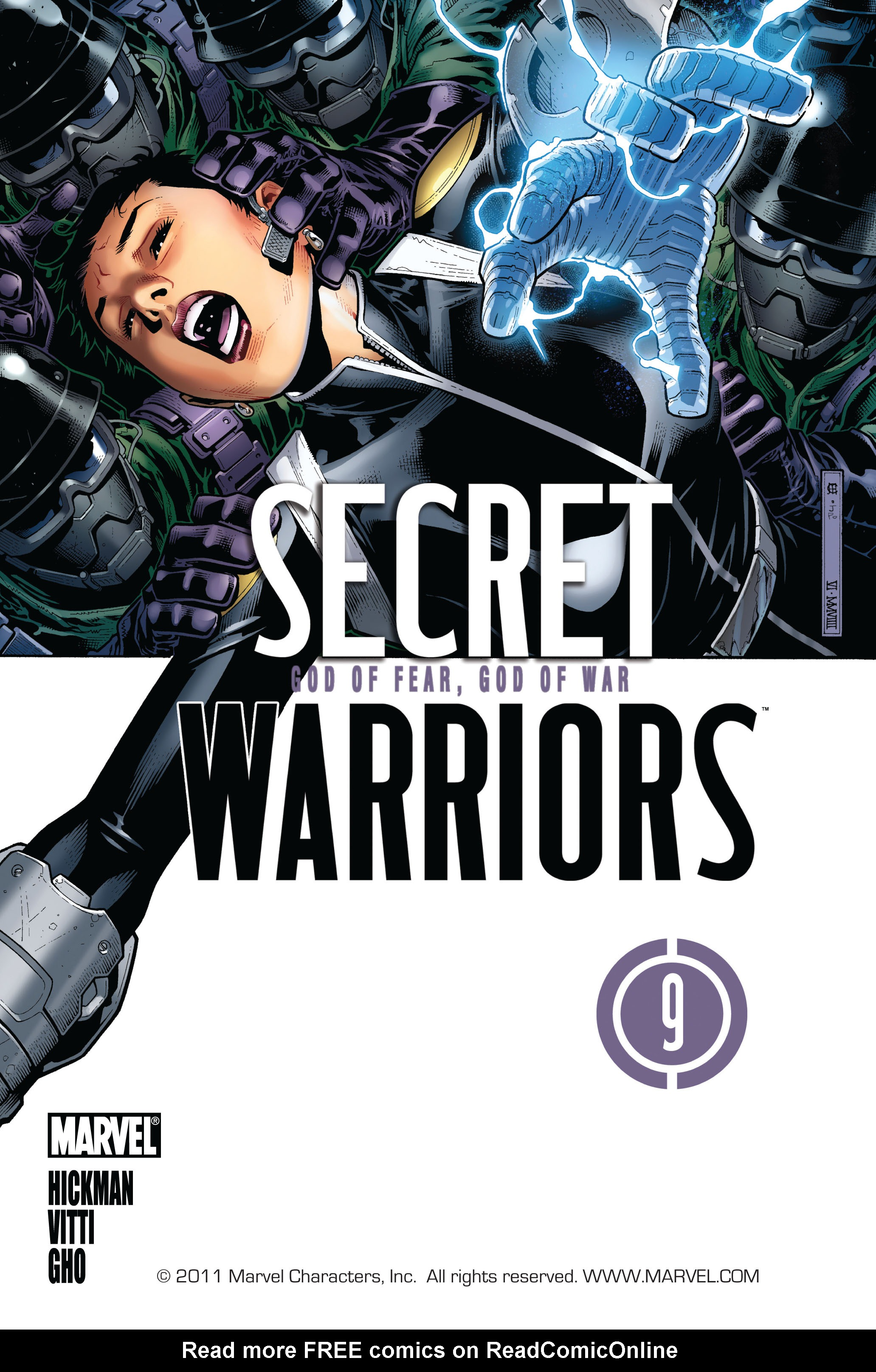 Read online Secret Warriors comic -  Issue #9 - 2