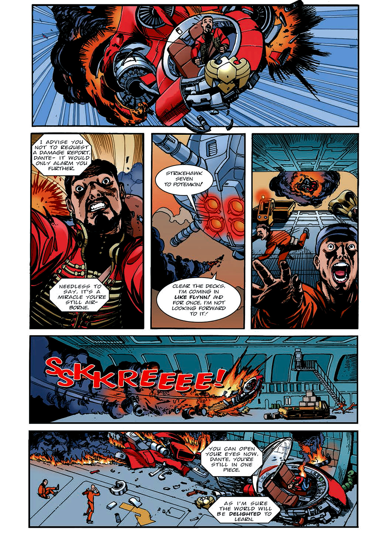 Read online Nikolai Dante comic -  Issue # TPB 4 - 133