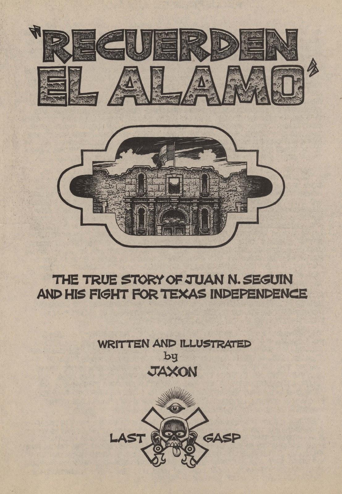 Recuerden el Alamo issue Full - Page 3