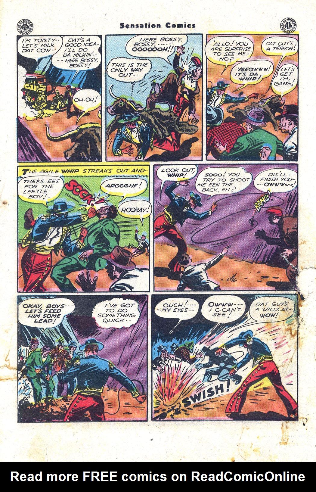 Read online Sensation (Mystery) Comics comic -  Issue #43 - 27