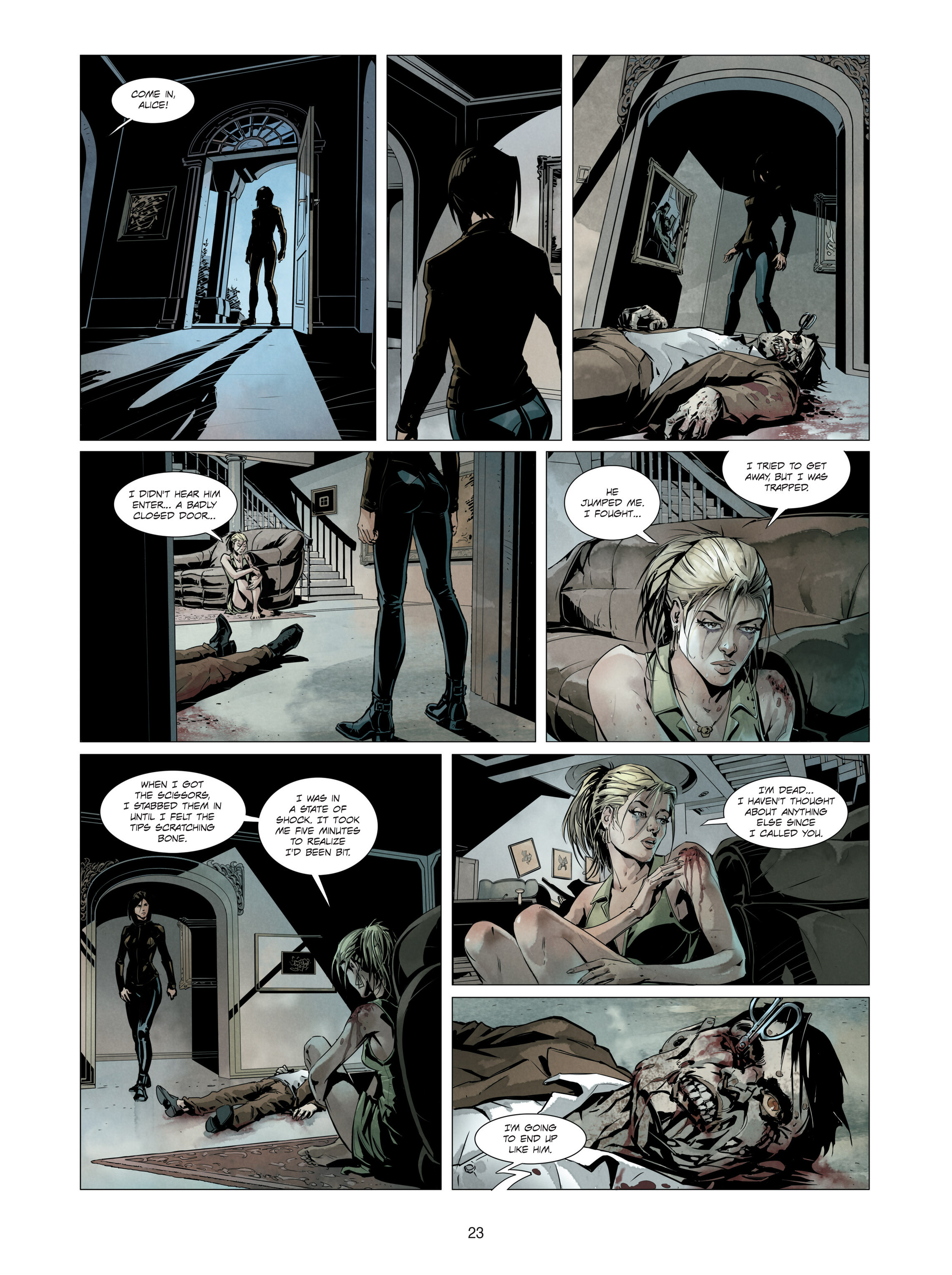 Read online Alice Matheson comic -  Issue #3 - 23