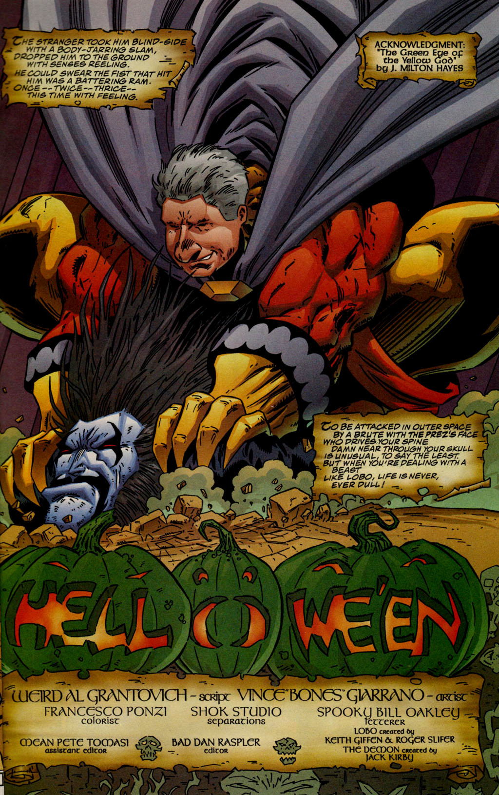 Read online Lobo/Demon: Hellowe'en comic -  Issue # Full - 4