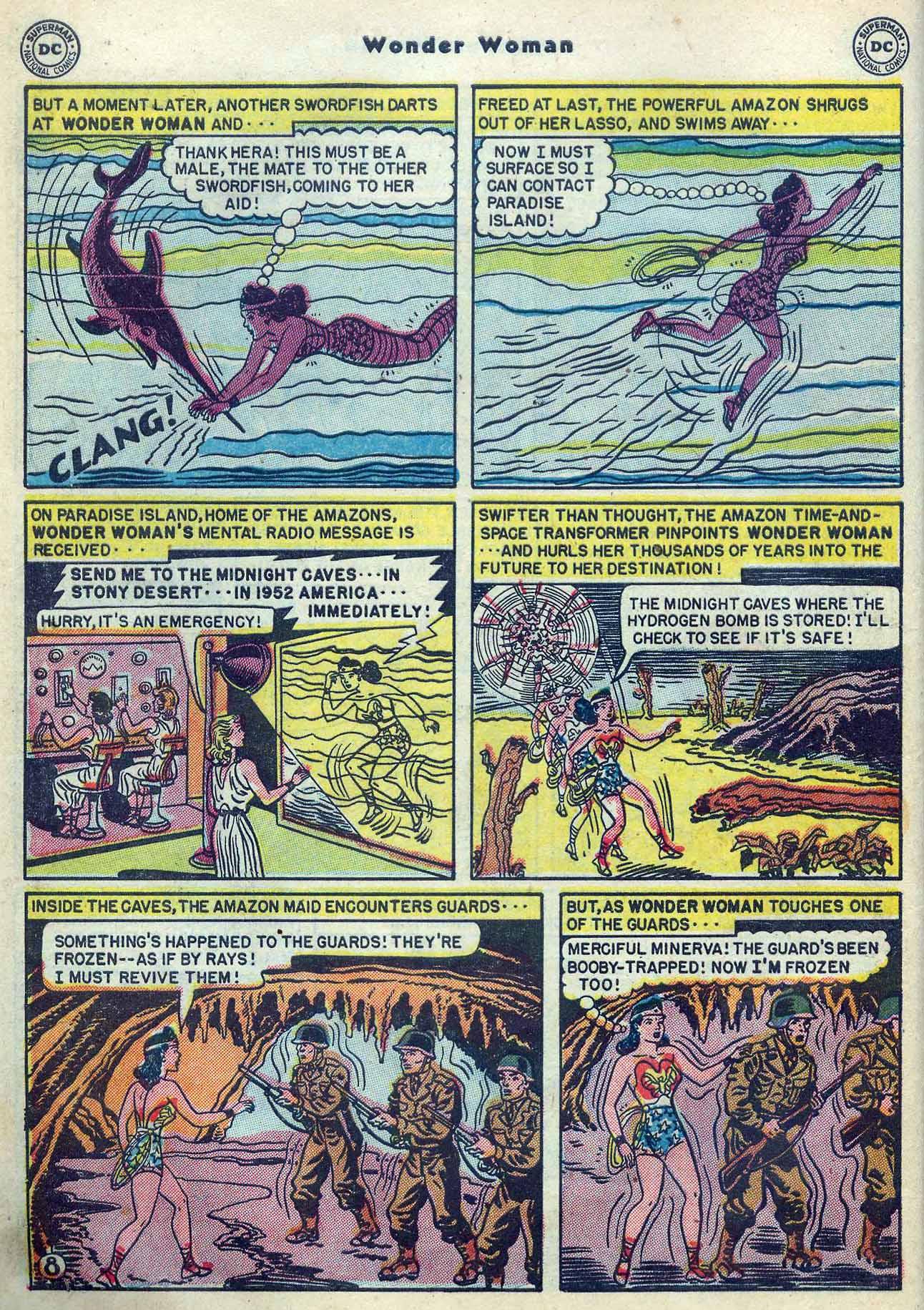 Read online Wonder Woman (1942) comic -  Issue #53 - 10