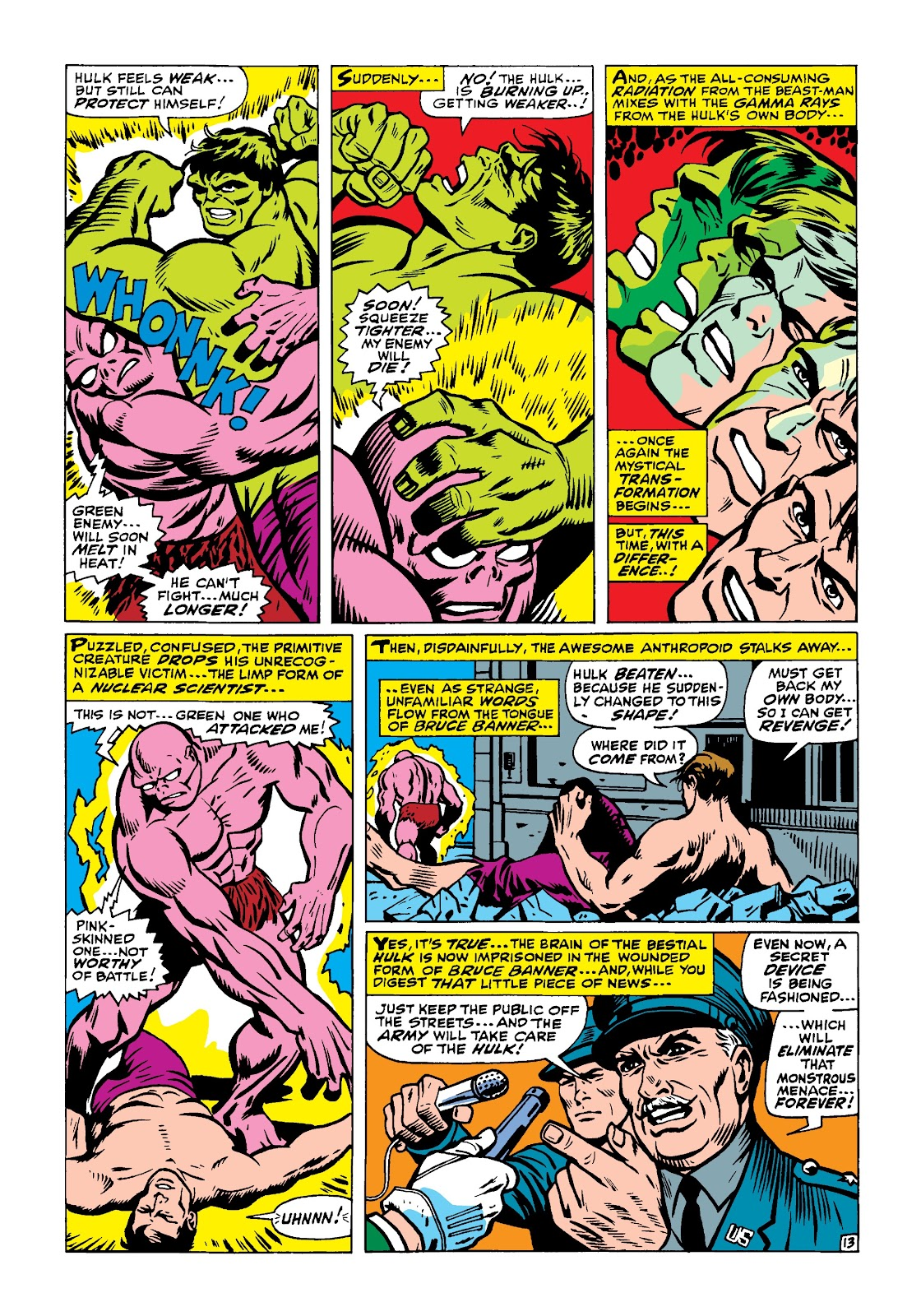 Read online Marvel Masterworks: The Incredible Hulk comic -  Issue # TPB 4 (Part 1) - 62