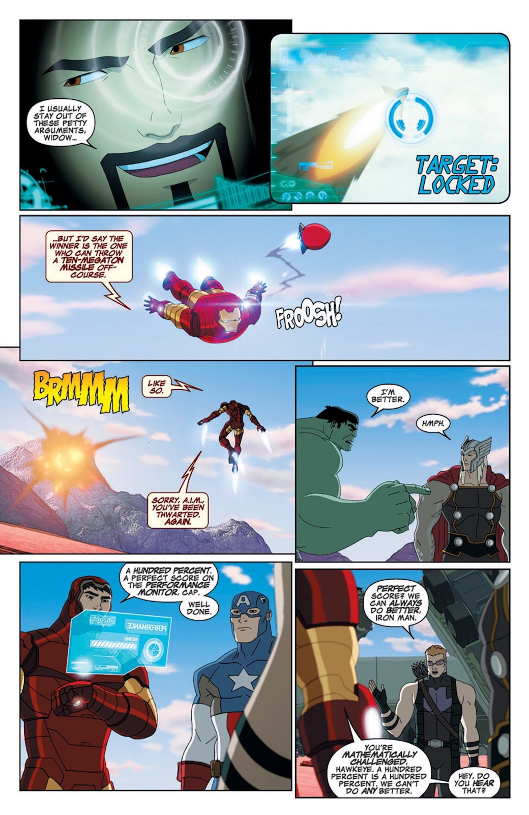 Read online Marvel Universe Avengers Assemble Season 2 comic -  Issue #8 - 5
