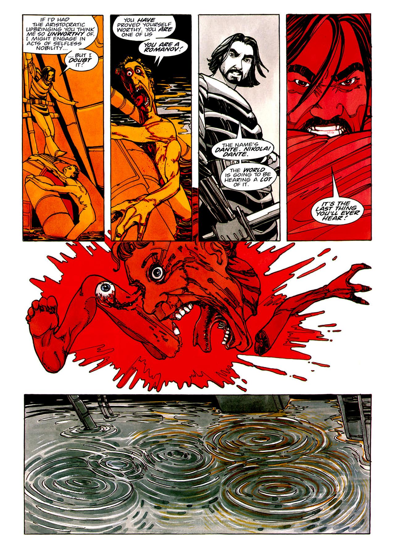 Read online Nikolai Dante comic -  Issue # TPB 1 - 44