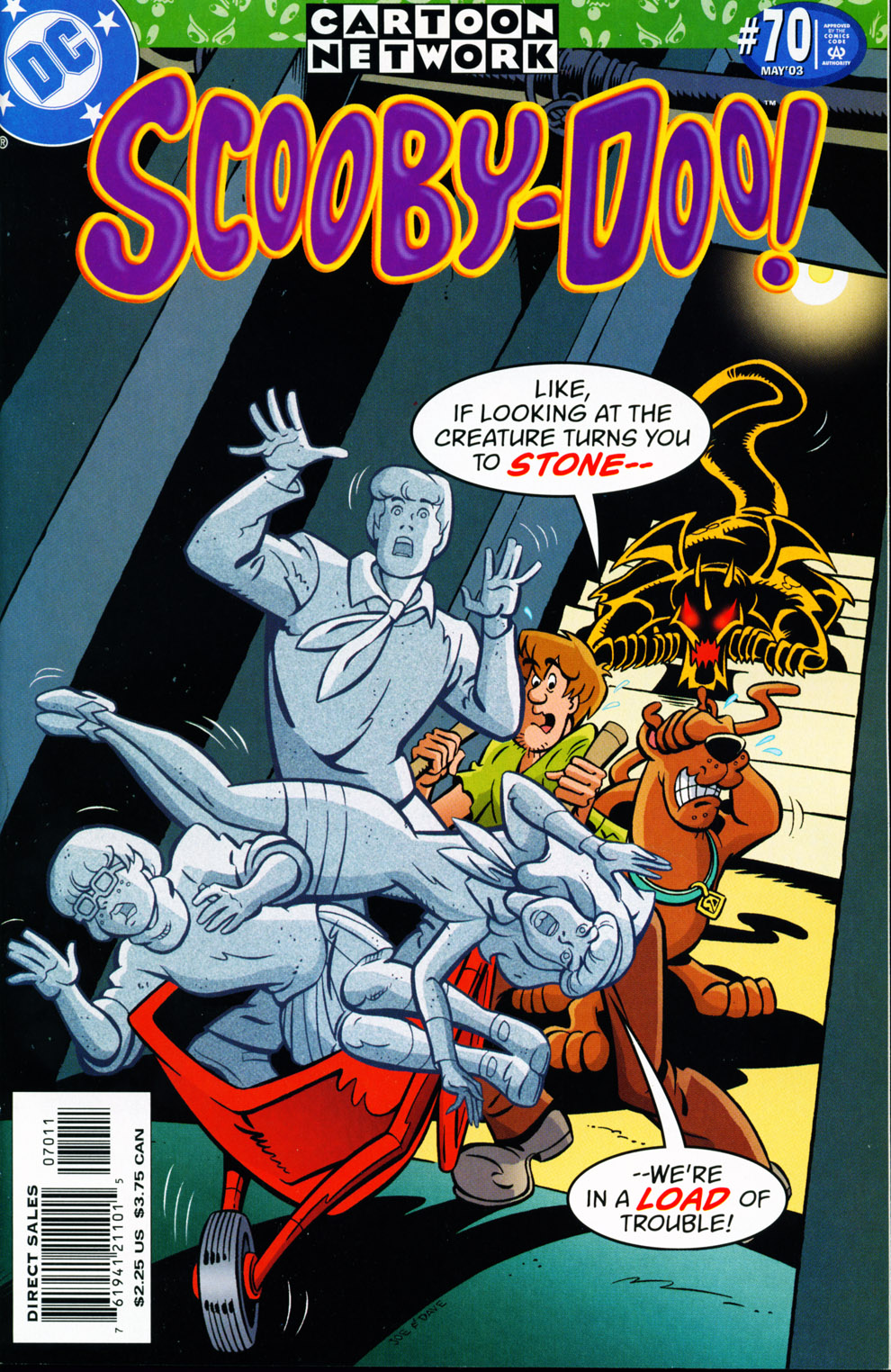 Read online Scooby-Doo (1997) comic -  Issue #70 - 1
