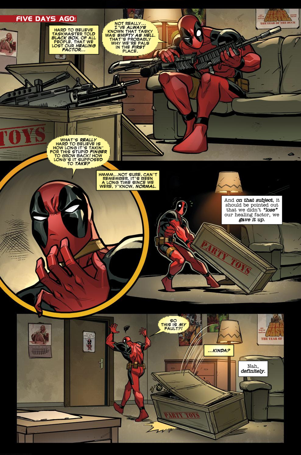 Read online Deadpool (2008) comic -  Issue #58 - 8