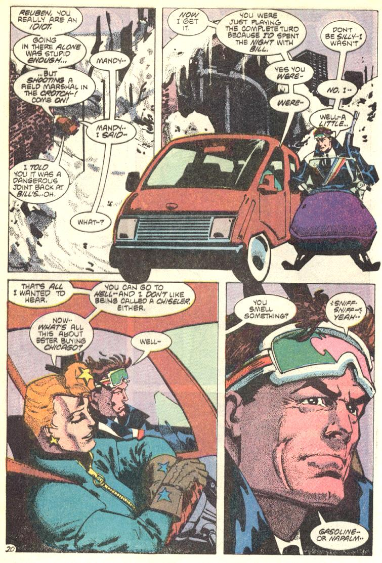 Read online American Flagg! comic -  Issue #9 - 21