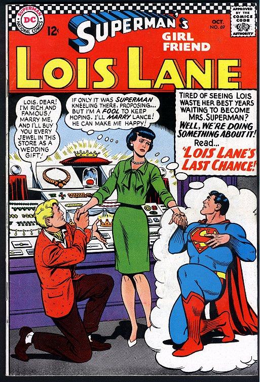 Supermans Girl Friend, Lois Lane 69 Page 1