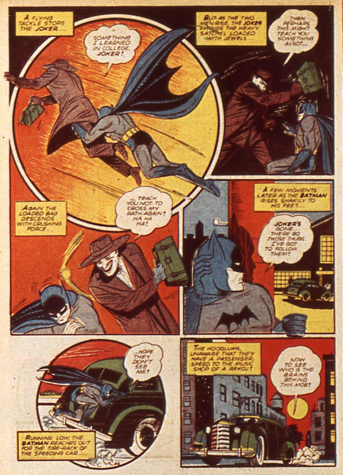 Read online Detective Comics (1937) comic -  Issue #45 - 10