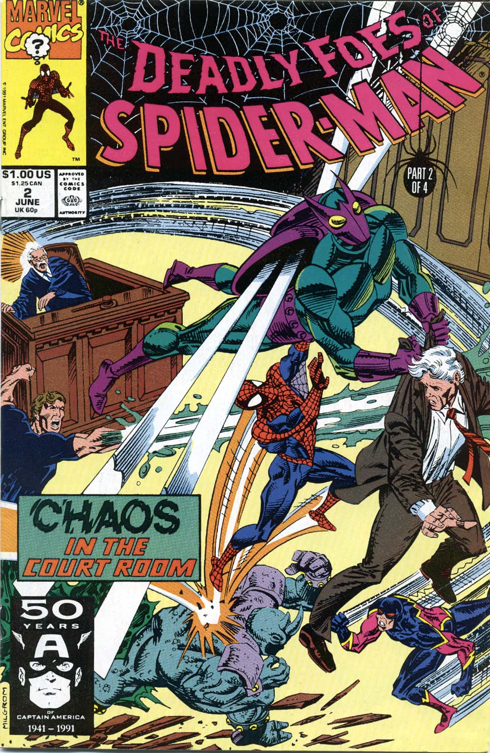 Deadly Foes of Spider-Man 2 Page 1