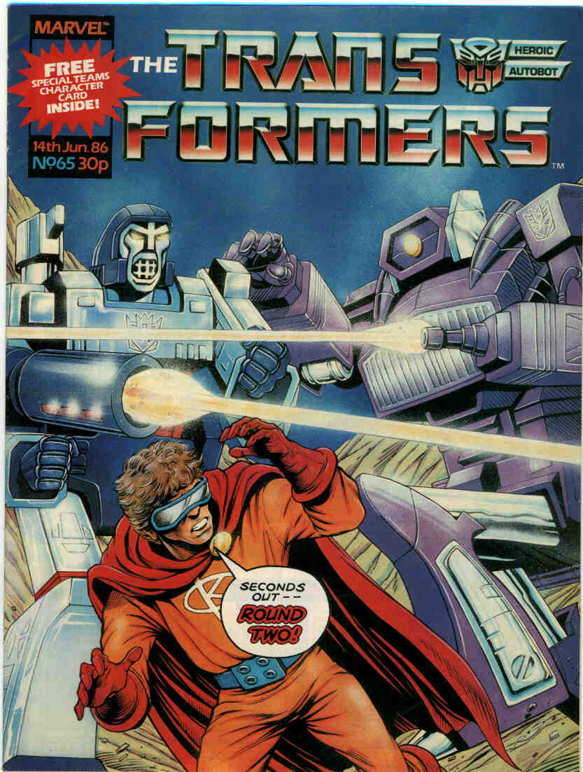 The Transformers (UK) 65 Page 1