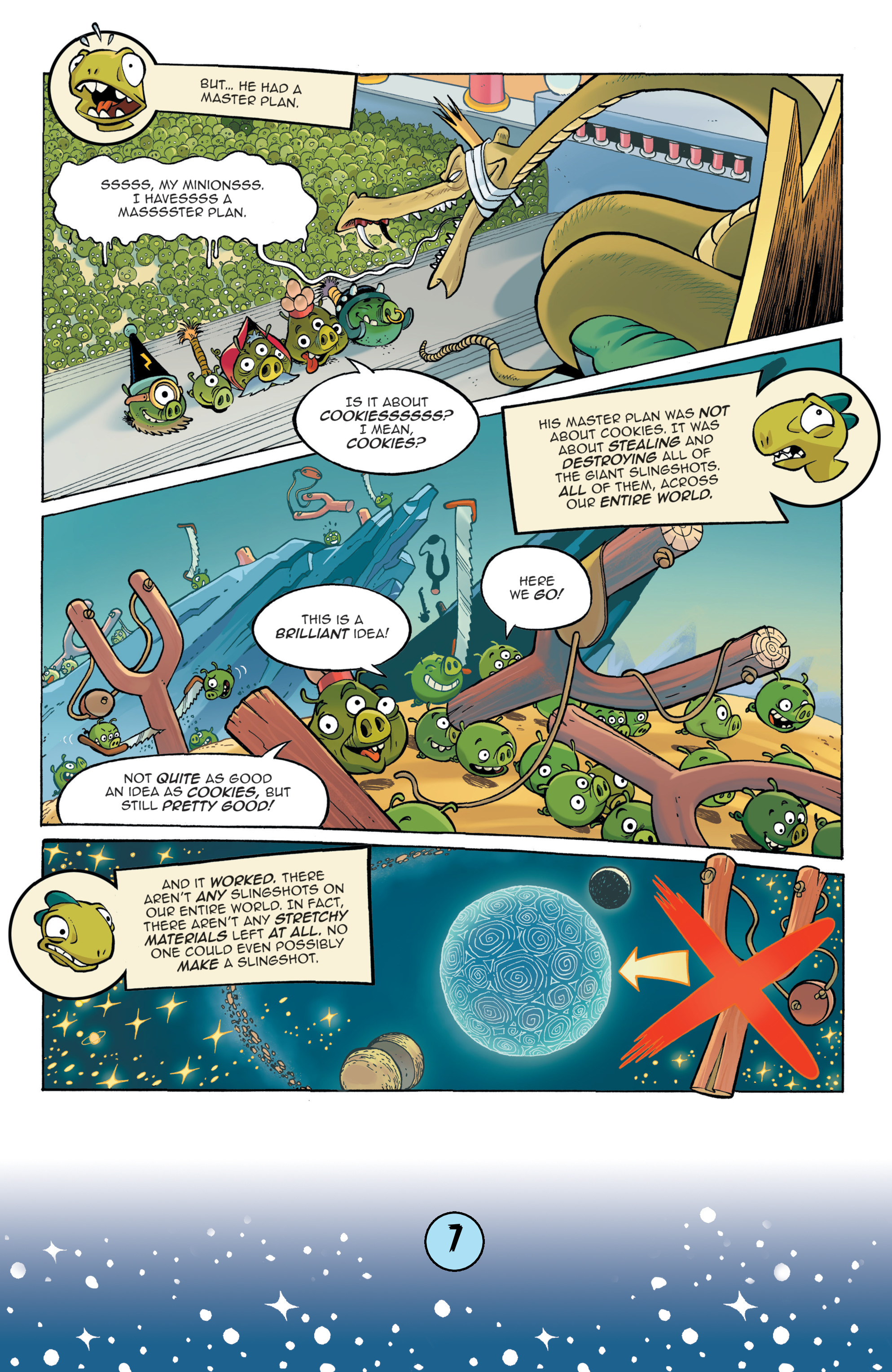 Read online Angry Birds Comics (2016) comic -  Issue #9 - 9