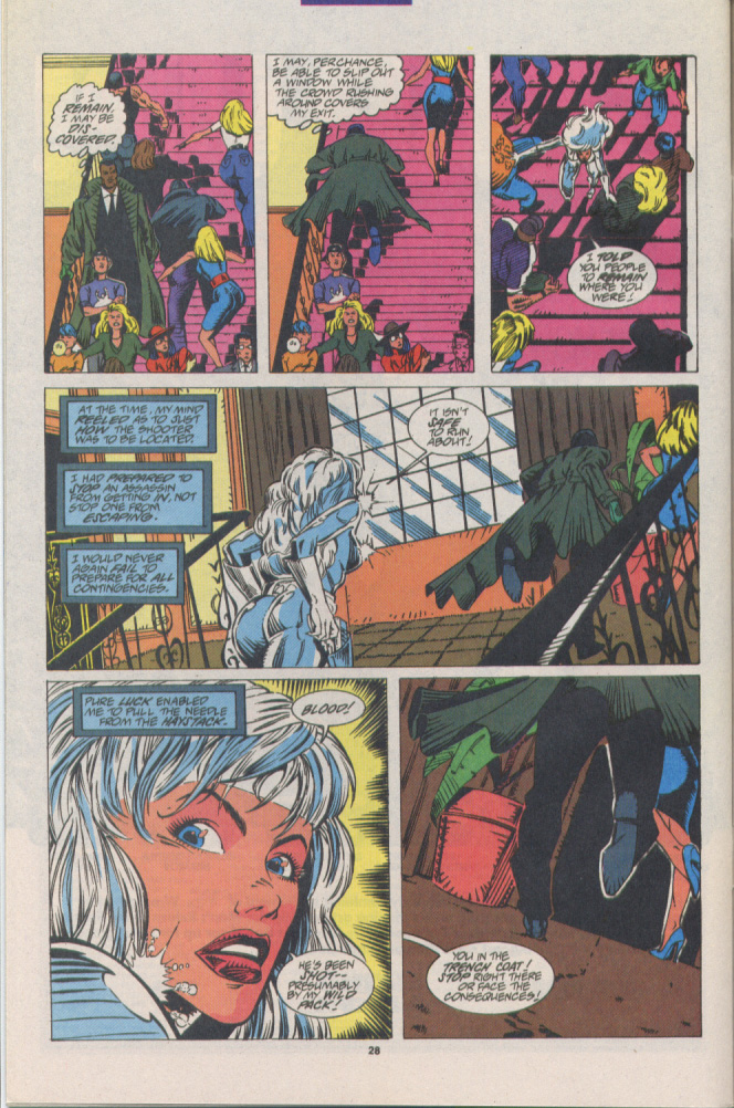 Read online Silver Sable and the Wild Pack comic -  Issue #16 - 21