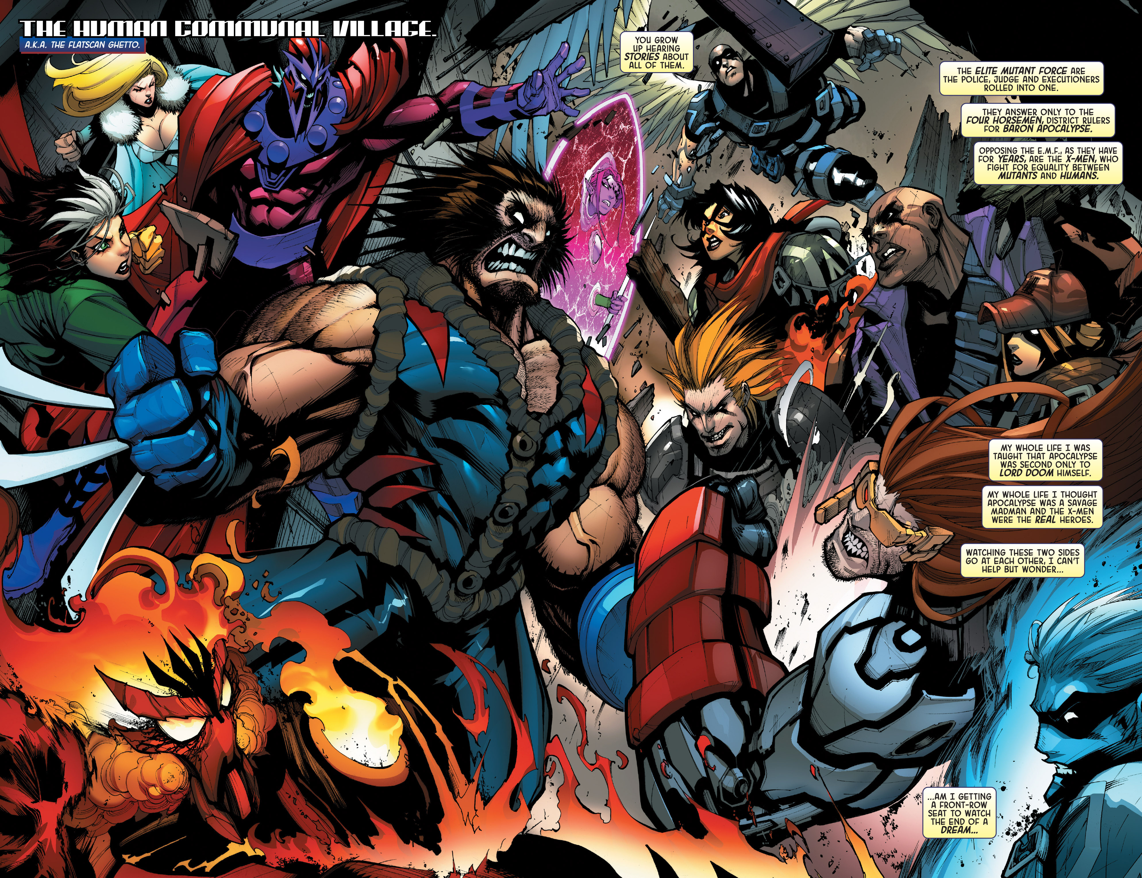 Read online Age of Apocalypse (2015) comic -  Issue #2 - 4