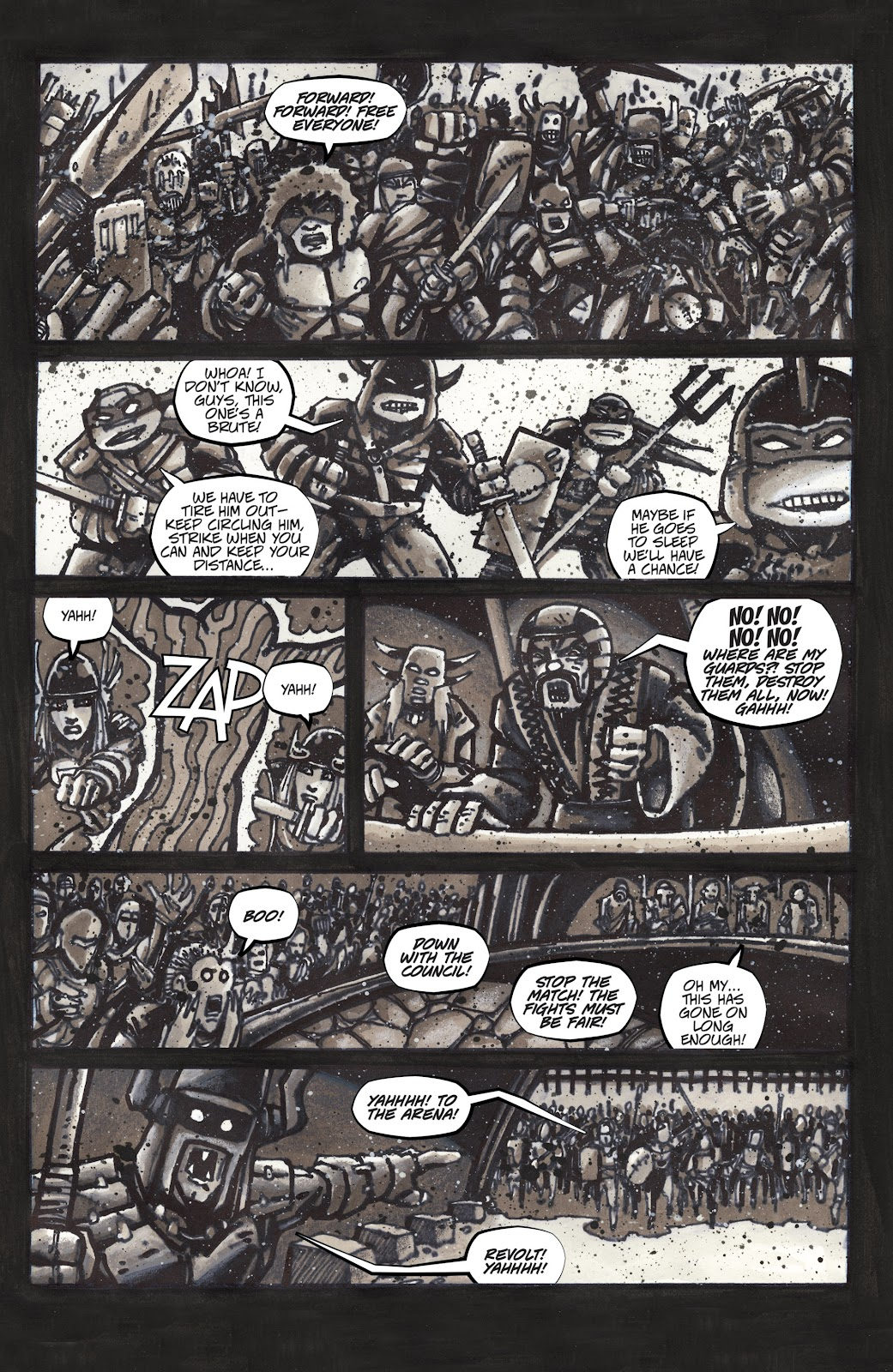 Read online Teenage Mutant Ninja Turtles: The IDW Collection comic -  Issue # TPB 4 (Part 3) - 2