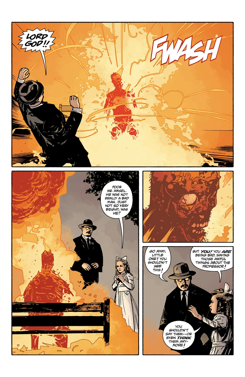 Read online Hellboy and the B.P.R.D. comic -  Issue # _TPB - 123