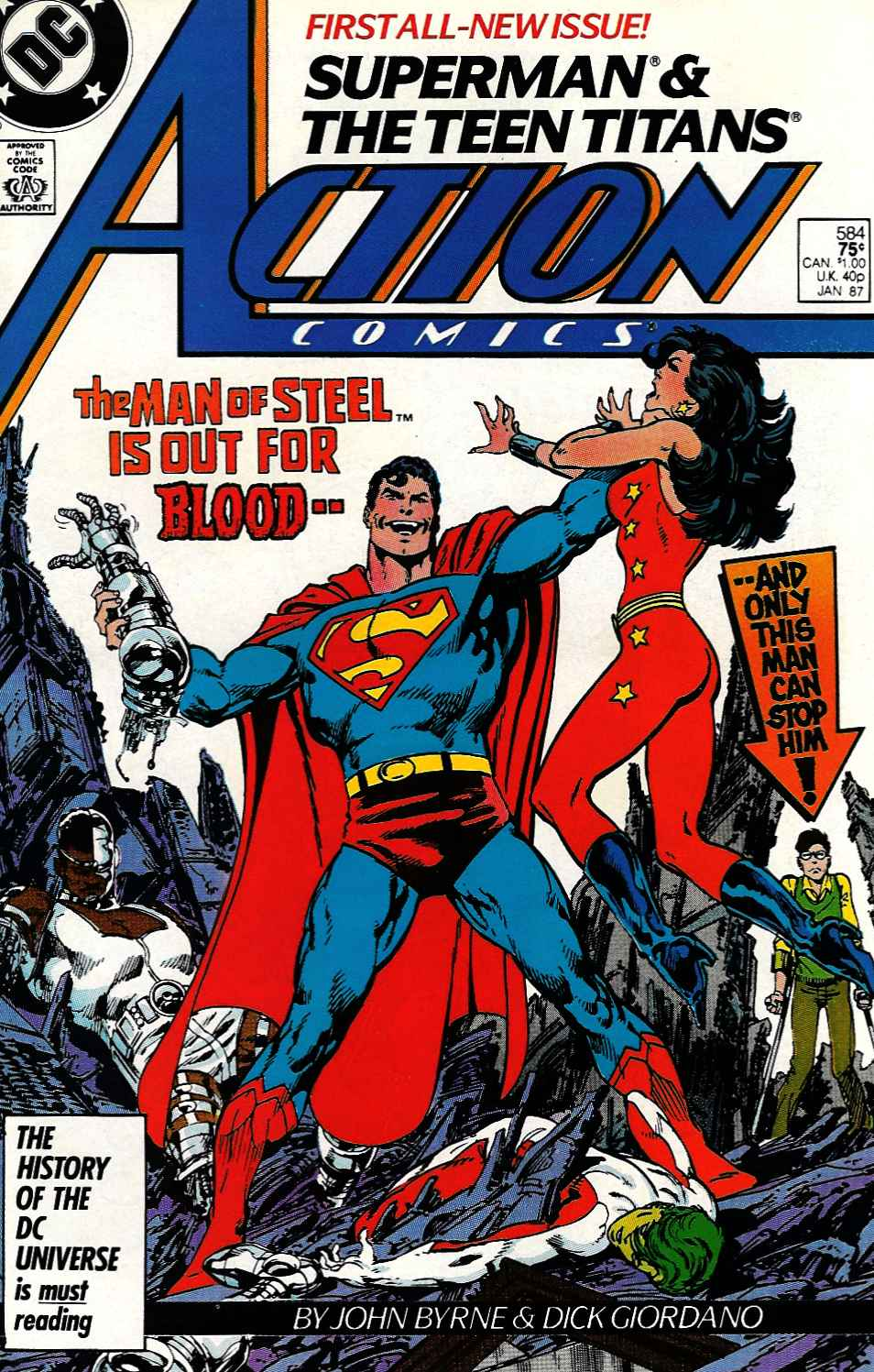 Action Comics (1938) 584 Page 1