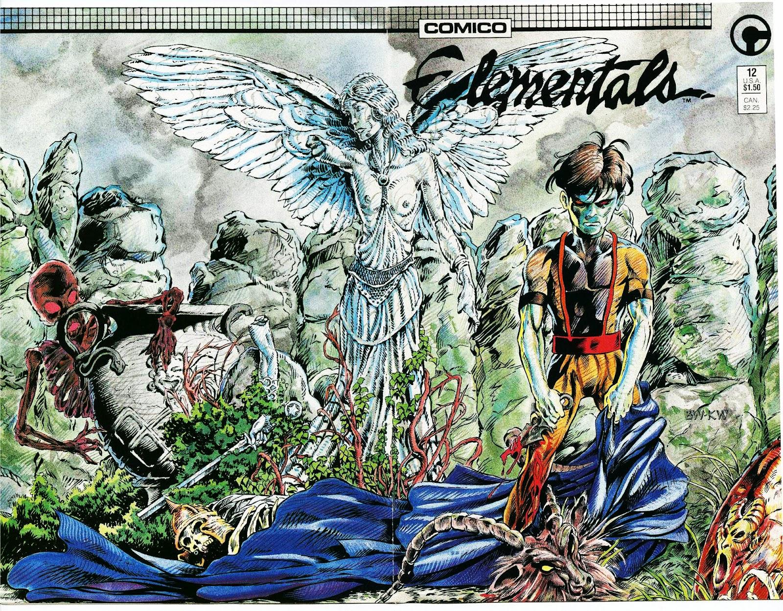 Elementals (1984) issue 12 - Page 1